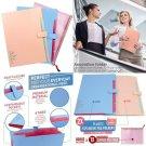 Paper Organizer Plastic File Folder | Accordion Folder Tabbed Paper Organizer Pe