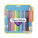Paper Mate 1928605 Flair Felt Tip Pens, Medium Point (0.7Mm), Tropical And Class