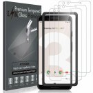 [3 Pack] Lk Screen Protector For Google Pixel 3, Tempered Glass [Hd-Clear][Anti-