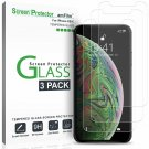 Amfilm Glass Screen Protector For Iphone Xs / X (5.8 Inch)(3 Pack) Iphone 10S /