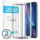 "Tethys Glass Screen Protector Designed For Iphone Xr (6.1"") [3-Pack] [Edge To Ed"