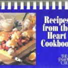 Recipes From The Heart Cookbook The Pampered Chef  Exc Cond Clean