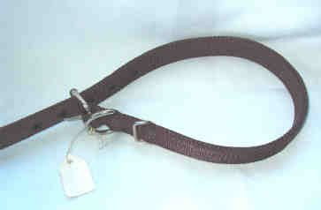 27 inch Dog Collar ~ Thick Woven Nylon Brand New - Minimum 18 inch neck size