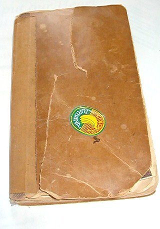 A Personal Recipe Cook Book with Banana Stamp and B Crocker Ad 1960s