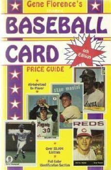 1991 Florences Standard Baseball Card Price Guide 089145473x