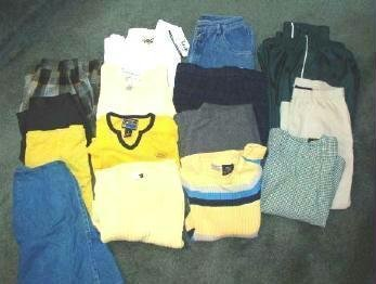 15 Piece Lot Ladies Juniors Clothes XSmall Small New and As New
