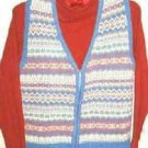 Erika Classics Clothing Co Vest and Cabin Creek Turtleneck ~ Ladies Small Petite