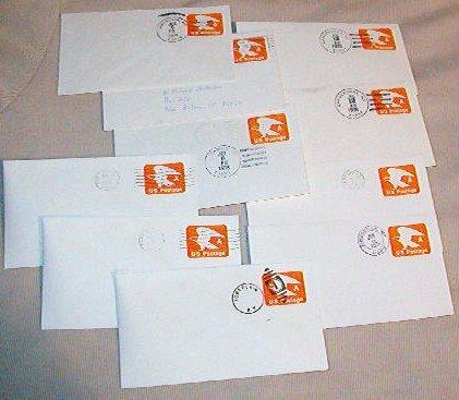Lot of 30 Canceled ~ A ~ Usps Postage Envelopes Postmarks Upstate N Y