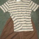 Denim and Co Shorts plus Susan Graver Top Outfit Ladies Sz Small Gr8 Cond