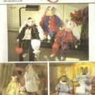 Uncut Simplicity Crafts 9336 ~ 24 inch Bunny and Cat Including Clothes