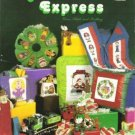 Vanessa Ann Collection The Mistletoe Express Quilt n Cross Stitch Moon Crib Toy-Rainbow- Noahs Ark