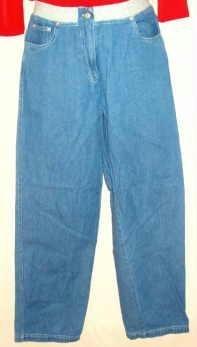 Real Comfort Ladies Denim Blue Jeans Size 8 - 28 x 30