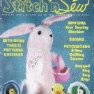 Stitch n Sew Magazine Features More than 35 Patterns Easter April 1982