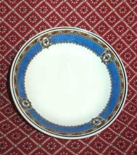 Opco Syracuse China Cobalt Blue Bowls w Flowers and Urn Pattern - Set of Three - Vintage