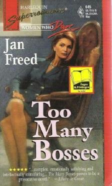 Too Many Bosses by Jan Freed Harlequin 0373706456