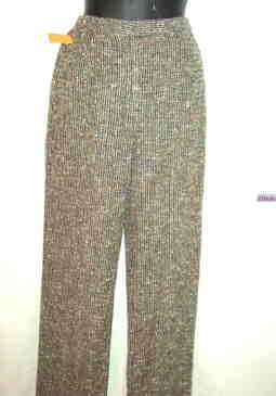 Finity Naturals Ladies Boucle Rayon Sz Small Pants _ New