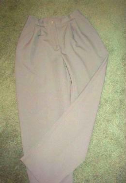 T R Bentley Gray Career Pants Slacks Ladies Size 6 NWOT