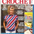 All Time Favorite Crochet Magazine 1990, Over 50 Projects, Patriotic Crafts, Afghans