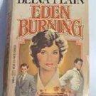 Eden Burning by Belva Plain 1983 Romance Novel 0440121353