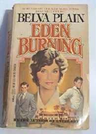 Eden Burning by Belva Plain 1983 Romance Novel 0440121353