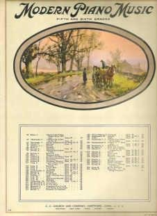 Revery Reverie Vintage Sheet Music Ed Schuett In Color
