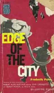 Edge of the City by Frederik Pohl 1957 First Edition Vintage Book