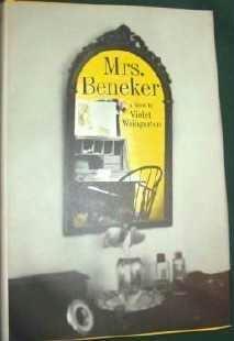 Mrs Beneker by Violet Weingarten - Hardcopy - 1967 Romance Novel Pristine
