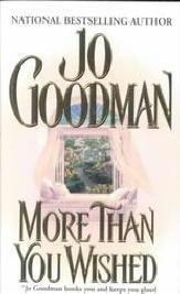 More Than You Wished by Jo Goodman Kensington Romance Book 0821767992