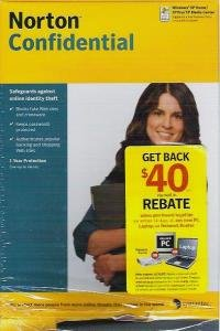 Norton Confidential Sealed -New - by Symantec Crimeware, Password, Security etc 2007
