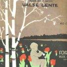 Whispers of Love Antique 1919 Sheet Music - Vargas - Vivid Illustration