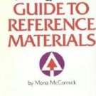 The New York Times Guide to Reference Materials Mona McCormick 0445081961