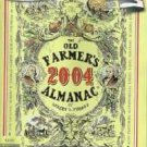 2004 Old Farmers Almanac by Robert Thomas - Gardeners Companion Section
