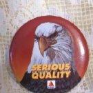 Citgo Oil Co Pinback American Eagle Advertisement Pristine and Mint!