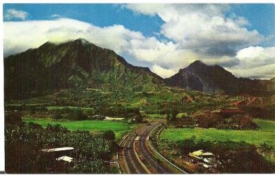 Honolulu Bound from Oahu Postcard 1960s Vintage Unused and in Color