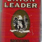 Union Leader Smoking Red Tobacco Tin In Vgc - Early 1900s