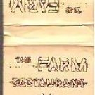 The Farm Restaurant Old Forge NY Matchbook Unused