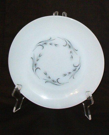 Fire King Anchor Hocking Gray Harvest Dinner Plate Dish Vintage