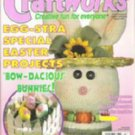 Craftworks Easter Magazine March 1997 Cross Stitch, Crafts, Patterns