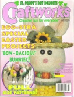 Craftworks Easter Magazine March 1997 Cross Stitch, Crafts, Patterns