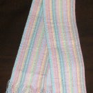 Spring Summertime Belt w/ Fringe Pastel Colors 1970s-1980s Era As New