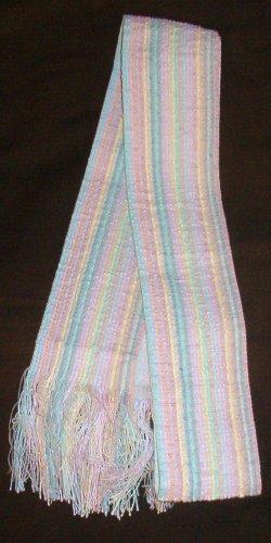 Spring Summertime Belt w/ Fringe Pastel Colors 1970s-1980s Era As New