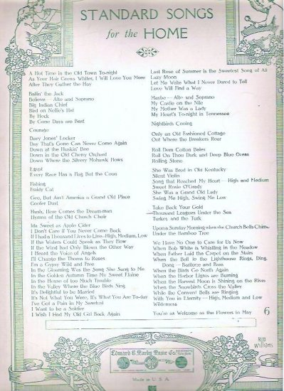 A Thousand Leagues Under the Sea 1901 Sheet Music by Petrie
