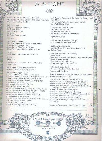 The Rolling Stone 1906 Sheet Music Leland Roberts - F C Harris
