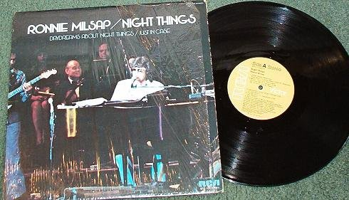 Ronnie Milsap - Night Things 1975 lp Record apl1-1223