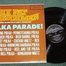 Six Fat Dutchmen Polka Parade 1964 lp Record hlp 121 Exc Cond