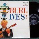 The Versatile Burl Ives lp Decca Record dl74152
