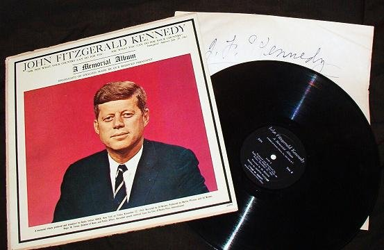 John Fitzgerald Kennedy - A Memorial lp Album Speeches Made