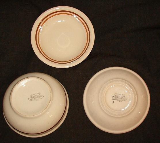 3 Desert Tan Sterling Restaurant Ware Vitrified Bowls Restaurantware