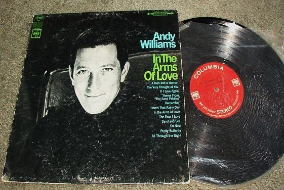 In the Arms of Love by Andy Williams lp cs 9333