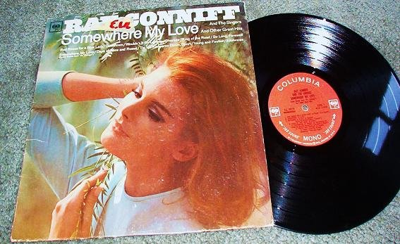 Ray Conniff lp 1966 cl2519 Somewhere My Love, Red Roses, Charade